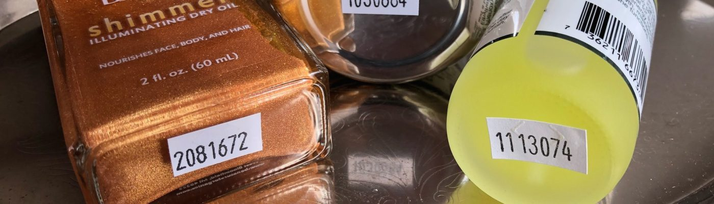 Batch Codes for Skin Care Products