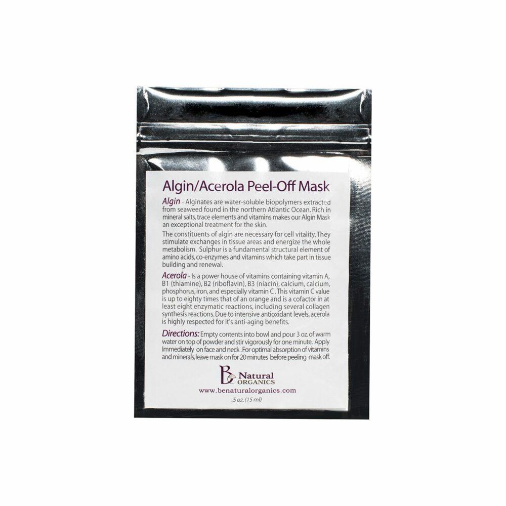 Algin Acerola Peel-Off Mask - 0.5 oz