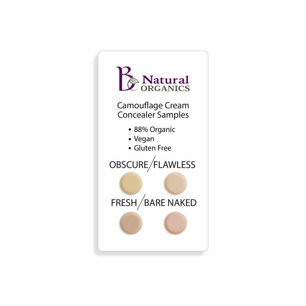 Camouflage Cream Concealers Samples