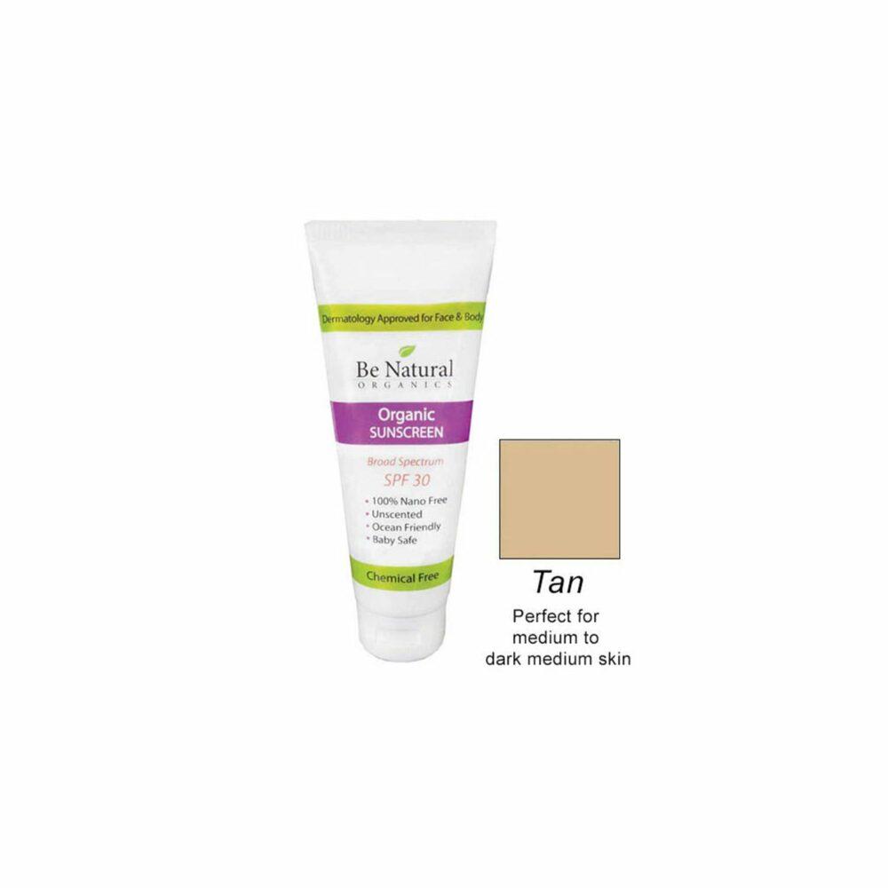 Organic Sunscreen – Tan Tint – 1 oz