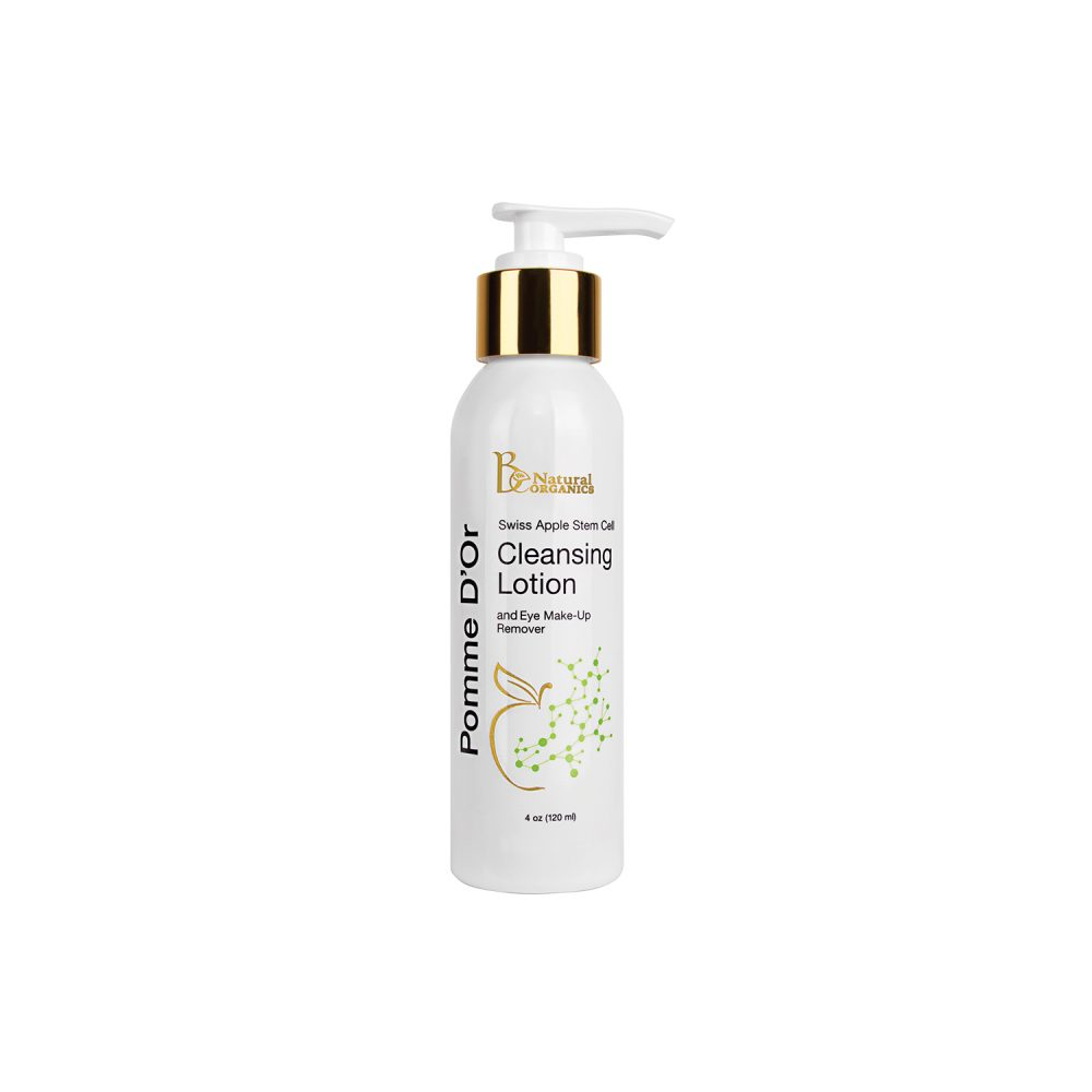 Pomme D'Or Stem Cell Cleansing Lotion and Eye Make-Up Remover - 4 oz